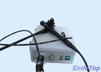 Veterinary Fiber Video Gastroscope with Screen