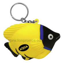 PU Animal Fish Model Stress Reliever Key Chain