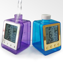 Assorted Colors Water Power Alarm Clock Calender Temerature XD-333