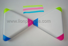 Tailored 3C,5C Triangle Pentacle Pyramid Shape Highlighter Pen