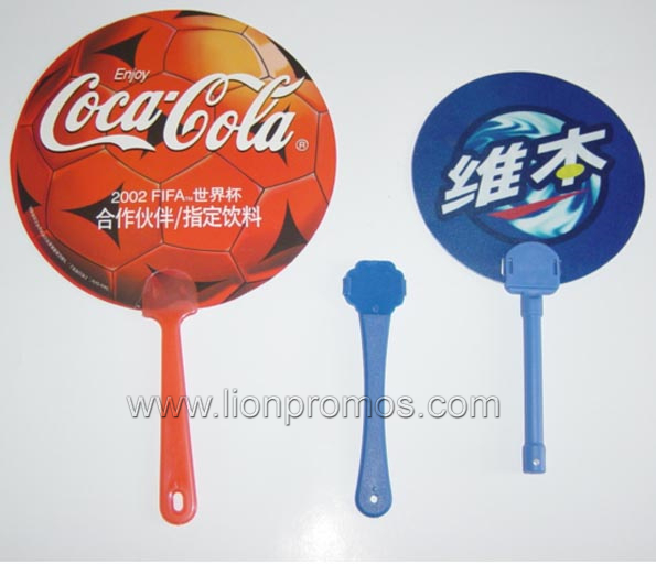 Cheap Trade Show Campaign Events Giveaways Gift PP Fan