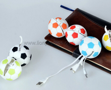 Mobile Promotional Gift Football Shape Mini USB Micro USB USB Charging Cable