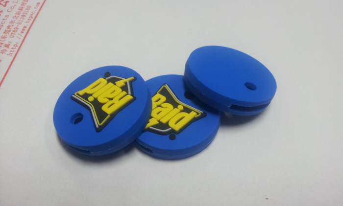Custom Shape Promotional Gift PVC Key Protector Cover