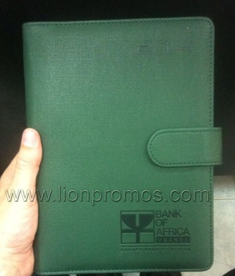 Rwanda Bank PU Loose Leaf Notebook