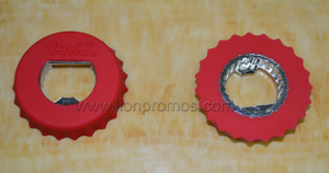 Silicone Dual Functions Bottle Opener