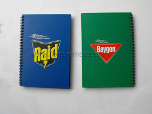 SC Johnson Raid Logo Promotional Gift Coil Notebook
