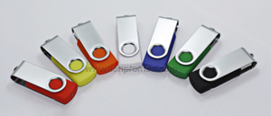 Various Color 2-8GB Cheap Rotate USB Flash Drive