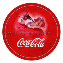 Coca Cola Christmas Eve Promotional Gift Household Wool Felt Cup Mat