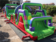 RB5032 (12x4m)Inflatable giant High Quality Obstacle Course for sale
