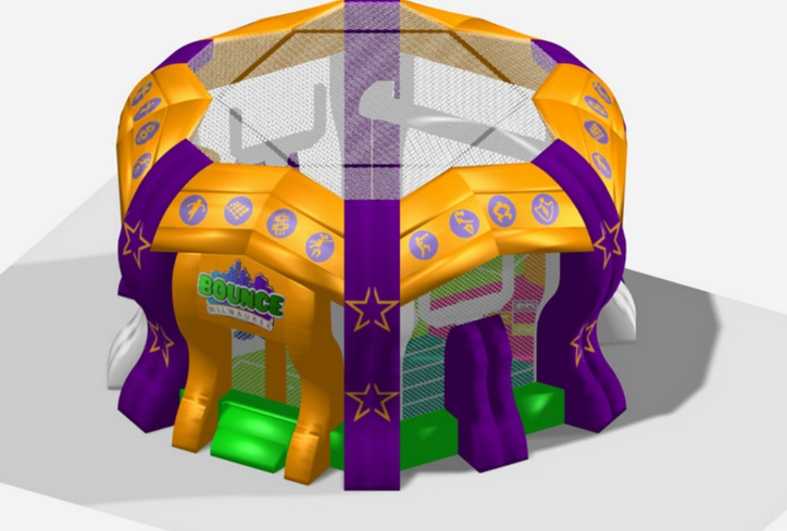bouncy sports Arena