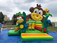 Jungle Inflatables by Rainbow Inflatables ltd