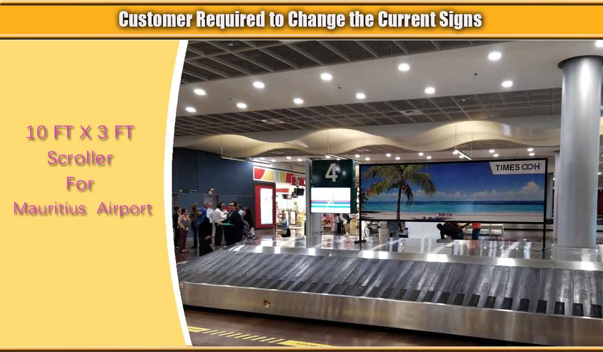Scroller-Signs-Mauritius-Airport