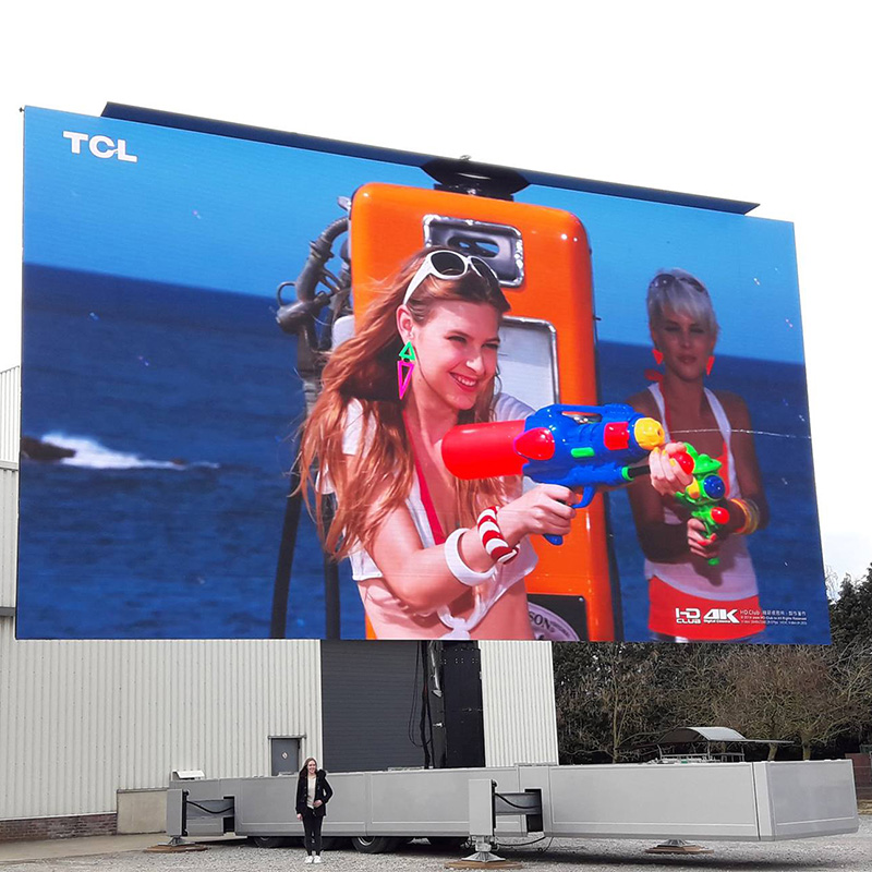 P4 Pared de video LED Nationstar LED de alta calidad 256x256 píxeles / 1024 mm x 1024 mm Pantalla LED Pantalla gigante de paneles LED para publicidad exterior