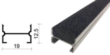 金刚砂地下室防滑坡道防滑条-19*12.5 mm