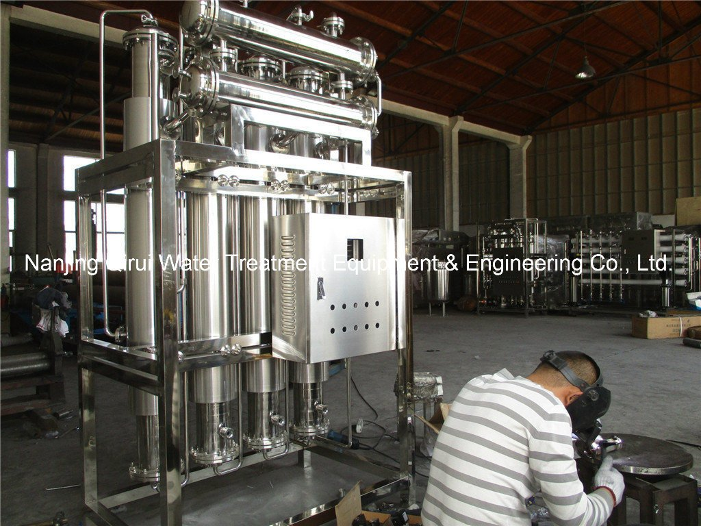Multiple Effect Distillation Unit for Pharmaceutical Industry