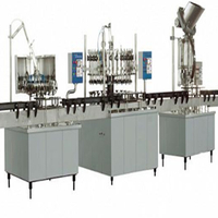 Small Capacity Manual Water Filling Machine (Linear Type)