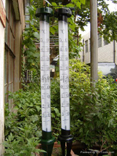 LX-009-A Metal Garden Thermometers with LED