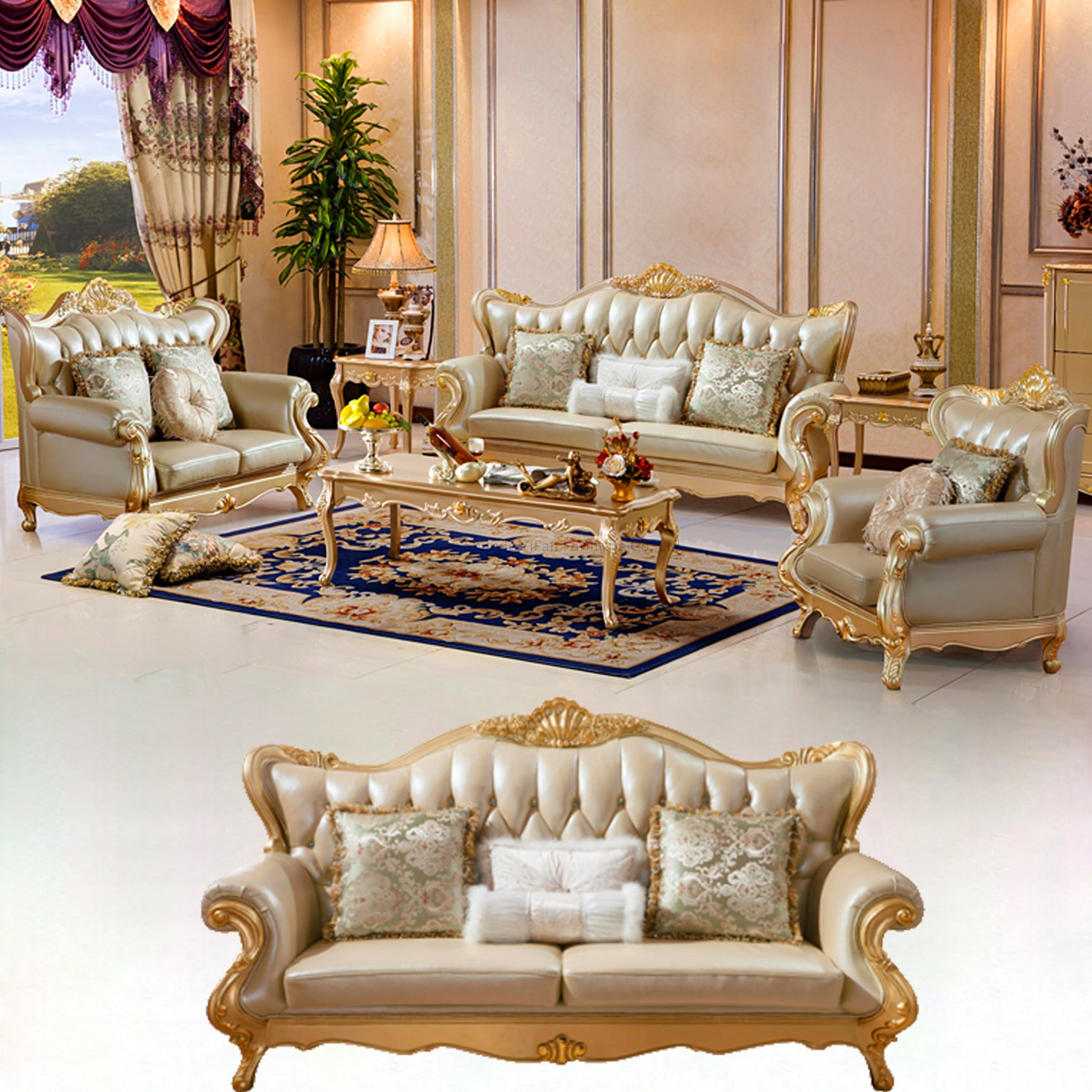 992s Home Furniture Leather Sofa Set Buy Leather Sofa Sofa  ~ Furniture Leather Sofa Set