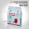 Zipper Lock Food Packing Resealable Vacuum Food Bags With Square Bottom