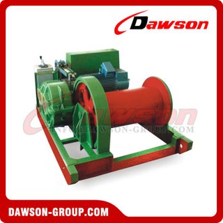 DS-JM2-DS-JM30 2-30Ton Slow Building Electric Winch Series para Levantar e Mover