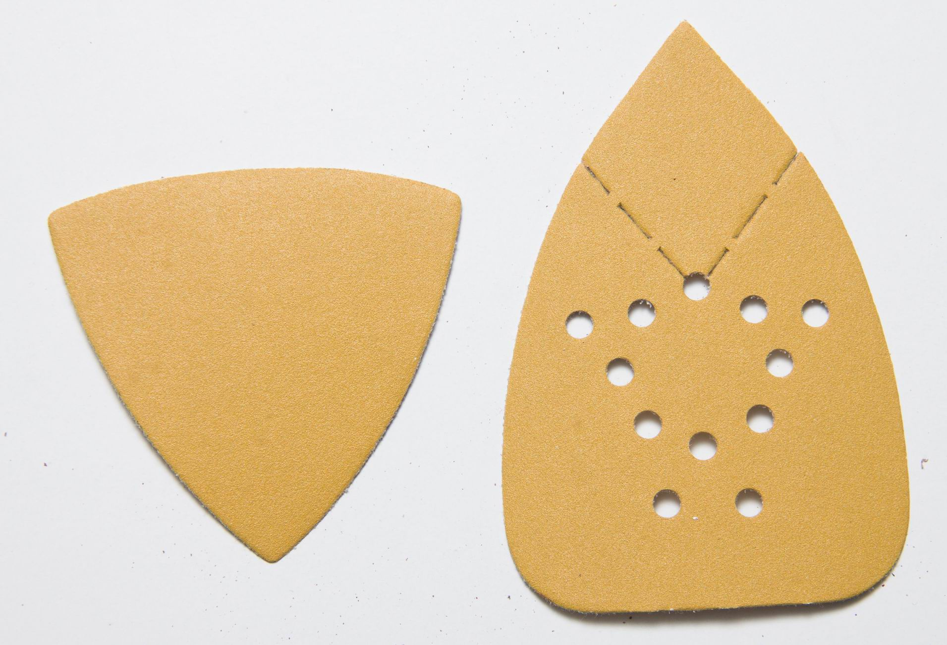 Triangle Velcro Sanding Disc For Metal And Wood