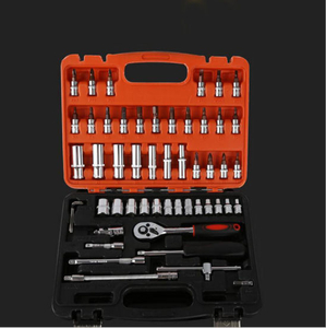 "Socket Set 53PCS 1/2"" Inch/Metric Ratchet Driver Socket Sets"