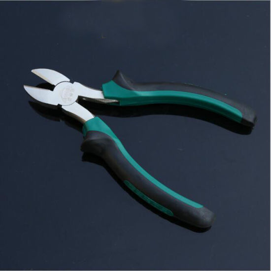 Hand Tool Cr-V Red Handle Diagonal Cutting Pliers