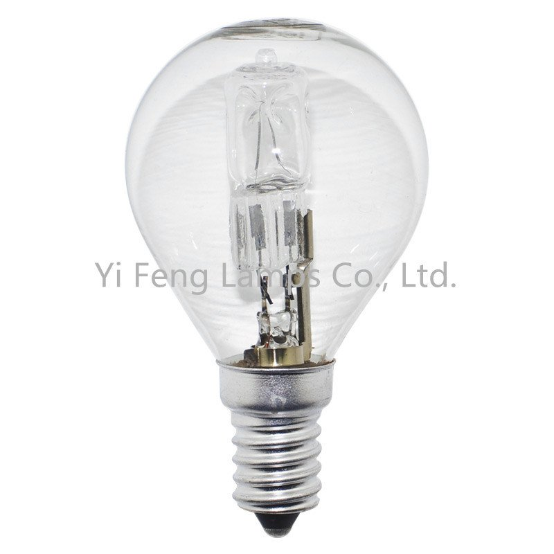 Hot Sale Eco G45 57W 230V Energy Saving Halogen Lamp Standard with Ce RoHS ERP Meps