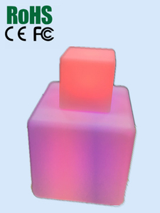 Cube color changing led light for kids