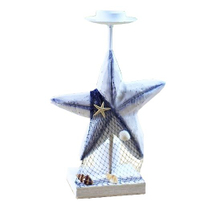 Wooden Candle Holder, Star Candle Holder