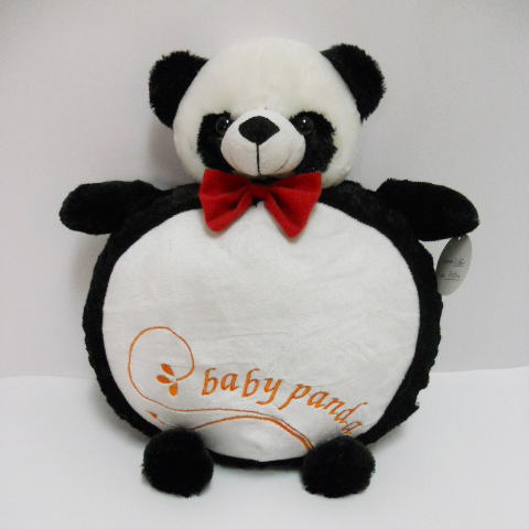 Hot Sale Plush Stuffed Baby Panda Pillow