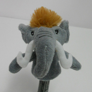Plush Stuffed Toy Mamut Finger Puppet for Kids