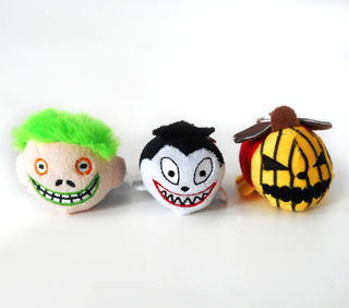 Stuffed Customized Bulk Festival Plush Keychain