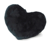 Plush Heart Shape Pillow Valentine Day Black Suit Heart Back Cushion