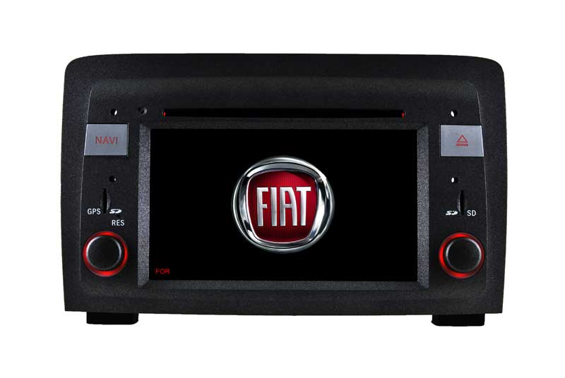 "6.2""Fiat Idea/Musa Android 9.0 Car Dvd Players Carplay Android Phone Connections"