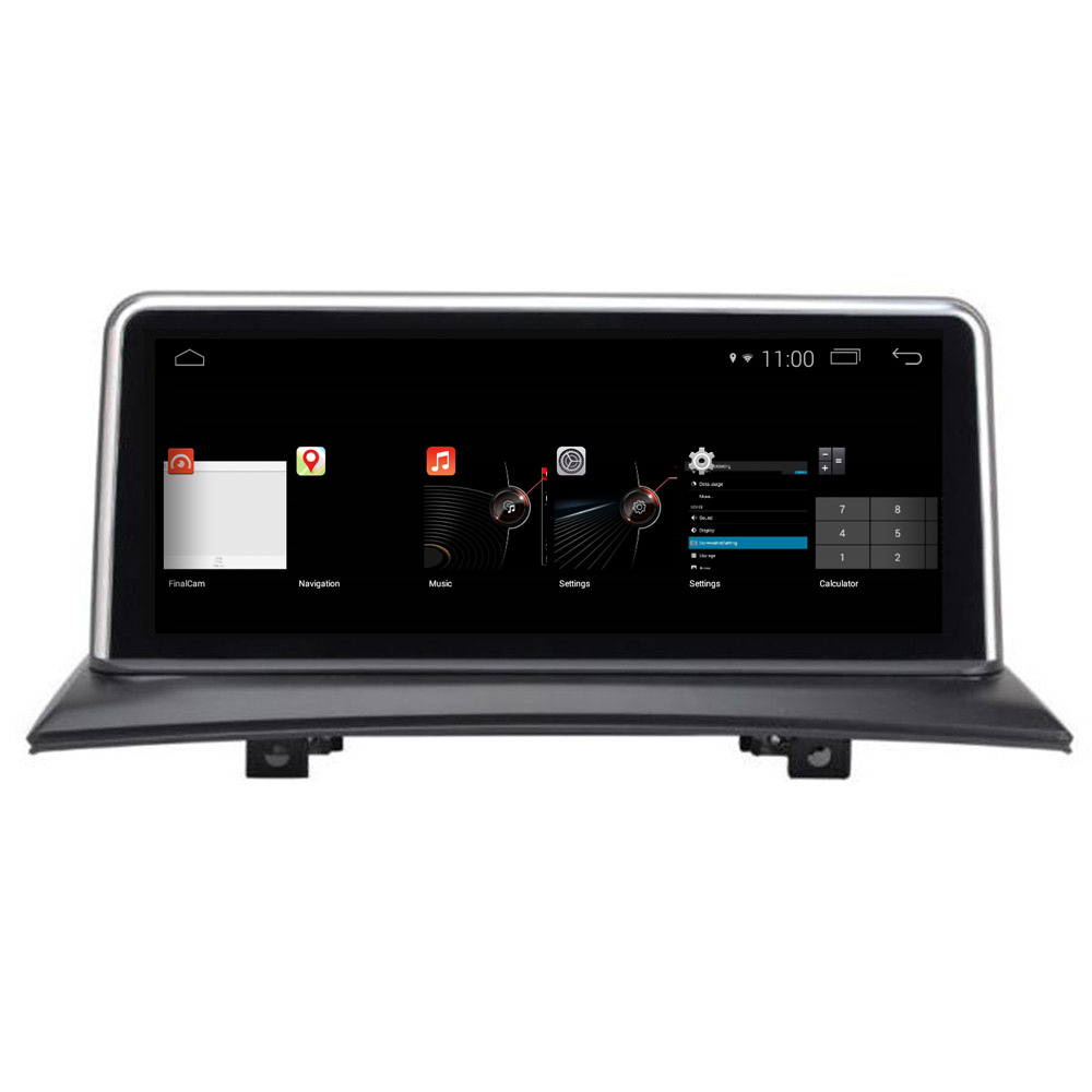 "10.25"" Android 8.0 Bmw X3 E83 Navigation GPS Resolution: 1920 X 720 Pixels"