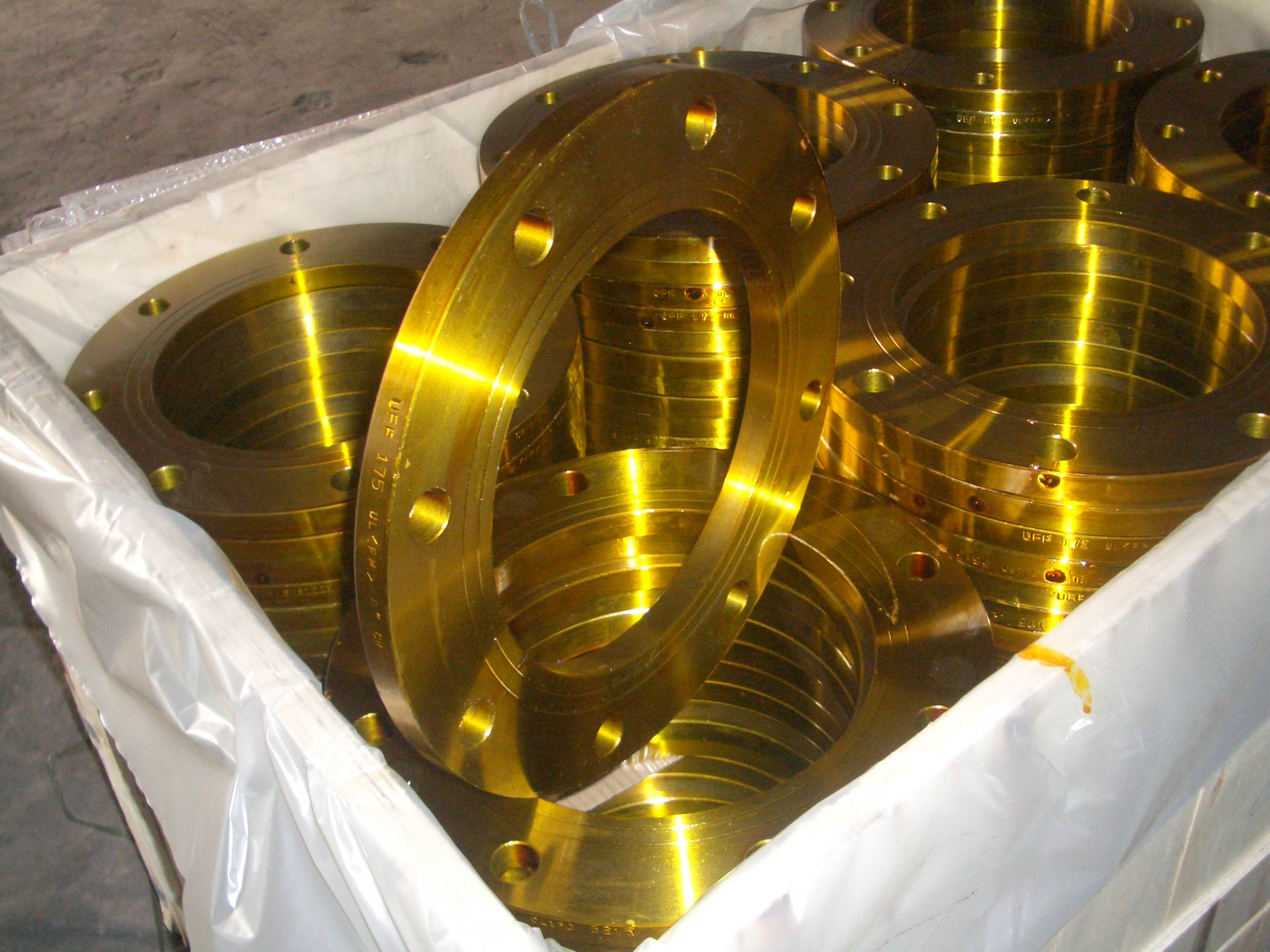A105 Plate Flanges (YZF-F12)