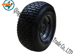 Pneumatic Rubber Wheel with Platting Wheel Rim