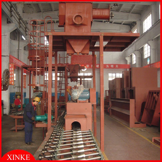 Small Steel Pipe Blasting Equipment