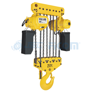 Electric Chain Hoist Model: STD (Large Capacity: 15 to 25 Ton)
