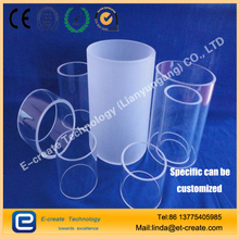 Low-hydroxyl quartz tube, dehydroxyline tube, high temperature transparent quartz glass tube, high purity quartz glass tube