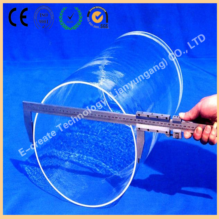 Quartz diffusion tube, oxidation tube, reduction tube, epitaxial tube, single crystal quartz tube