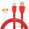 Factory Direct Sale Red Type-C Charging Data Cable for Samsung