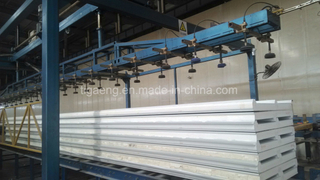 PU Sandwich Panel/Plate for Villa/Football Court/Basketball Court/Gymnasium
