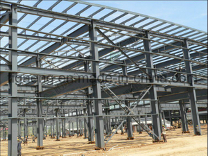 Good Quality Heavy-Duty Steel Structure Project/Workshop for Colombia