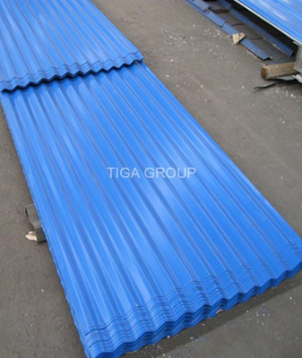 Color Coated Steel Plate/Corrugated Roofing Sheet Directly From Chinese Manufacturer