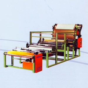 water-based adhesive lamination machine - webbing style lamination machine