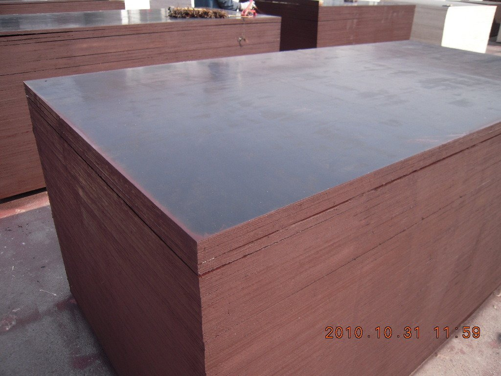 Birch Core Brown Film Faced Plywood for Concrete