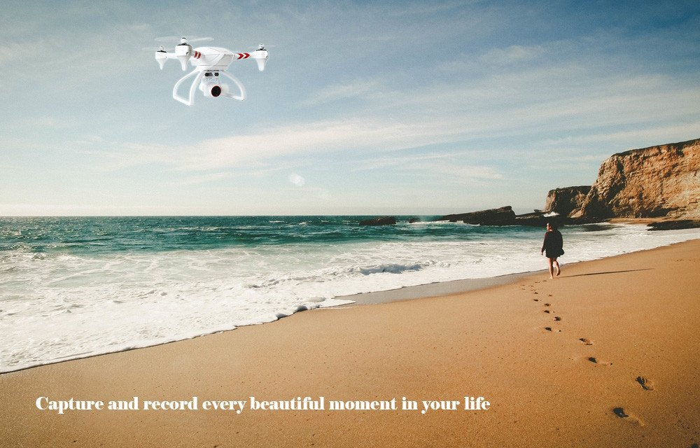 Stabilized Gimbal Flier Jyu Hornet S Drone with 4k HD Camera 16 Million Pixels RC Uav GPS Drones Quadcopter