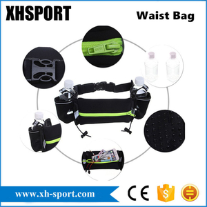 Outdoor Sport Running/Climbing Waist Bag with Bottle Pocket for Phone